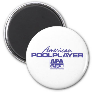 American Pool Player - Blue Magnets