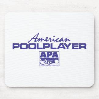 American Pool Player - Blue Mouse Mat