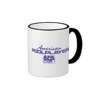 American Pool Player - Blue Coffee Mug