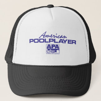 American Pool Player - Blue Trucker Hat