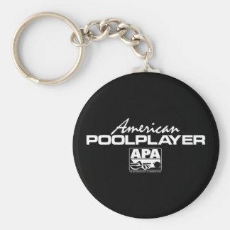 American Pool Player Key Chain