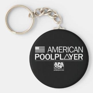American Pool Player Key Chains