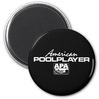 American Pool Player Fridge Magnets