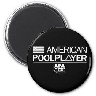 American Pool Player Magnet