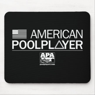 American Pool Player Mouse Pad