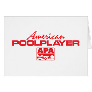 American Pool Player - Red Card