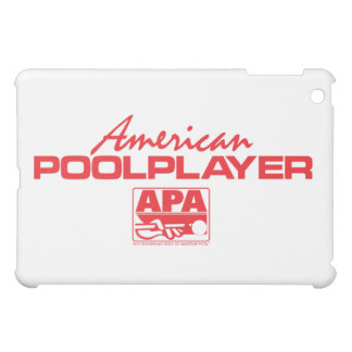 American Pool Player - Red Case For The iPad Mini