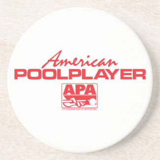 American Pool Player - Red Coaster
