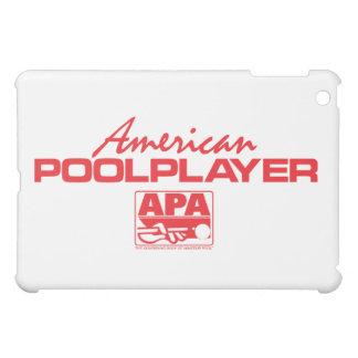 American Pool Player - Red iPad Mini Covers