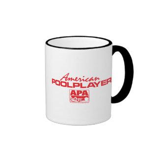 American Pool Player - Red Mugs
