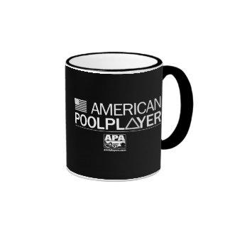 American Pool Player Ringer Mug