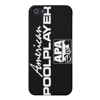 American Pool Player - White iPhone 5/5S Cover
