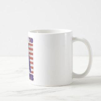 american power lineman electrician repairman pole basic white mug