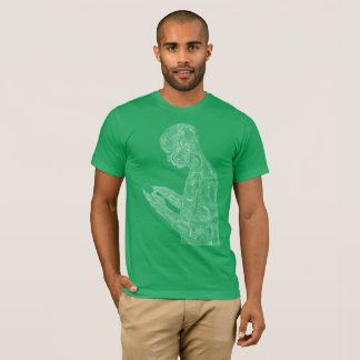 American Prayer (kelly w/ white) T-Shirt