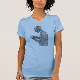 American Prayer Women's T-Shirt (baby blue)
