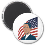 American President Barack Obama Fridge Magnets