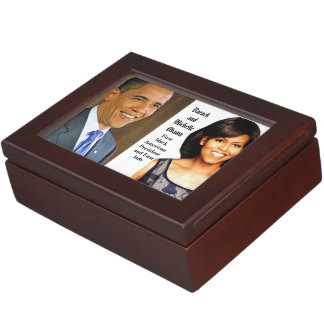 AMERICAN PRESIDENT BARACK OBAMA keepsake box