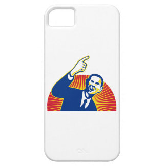 American President Barack Obama pointing forward Case For The iPhone 5