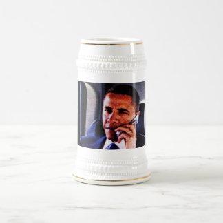 AMERICAN PRESIDENT, BARACK OBAMA stein. Beer Steins