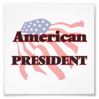 American President Photo Print