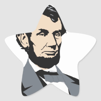 American Presidents: Abraham Lincoln 1861-1865 Star Stickers