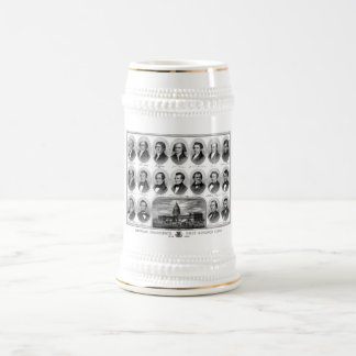 American Presidents First Hundred Years Beer Steins