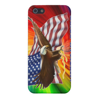 AMERICAN PRIDE EAGLE AND FLAG iPhone 5 CASE