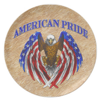 American Pride Eagle Plate