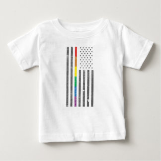 American Pride Flag Baby Jersey T-Shirt