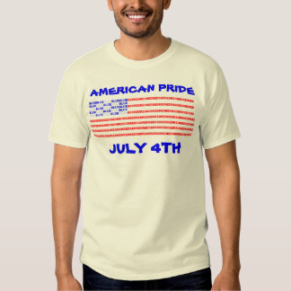 AMERICAN PRIDE T SHIRTS