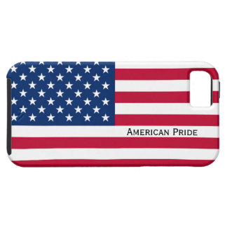 AMERICAN PRIDE USA American Flag Red White Blue iPhone 5 Case