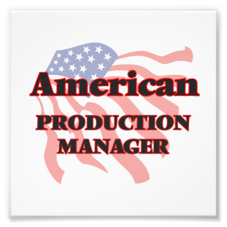 American Production Manager Photograph