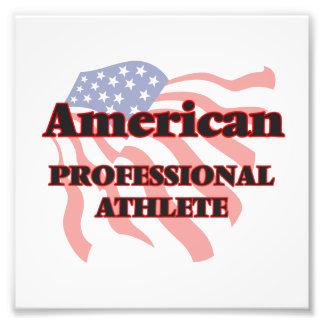 American Professional Athlete Photo