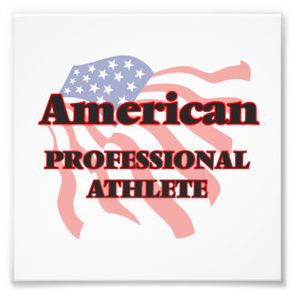 American Professional Athlete Photo