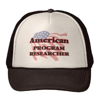 American Program Researcher Cap
