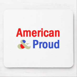 American Proud Mouse Pad