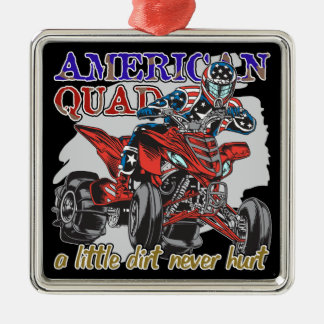 American Quad Christmas Ornament