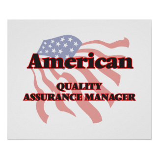 American Quality Assurance Manager Poster