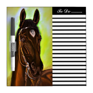 American Quarter Horse Dry Erase Board