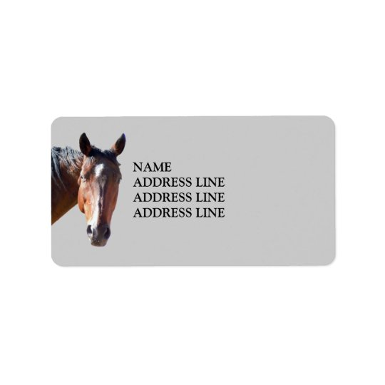American Quarter Horse - Western Return Address Address