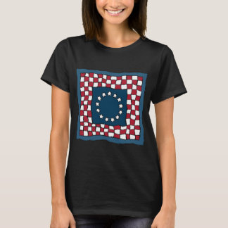 American Quilt Womens T-Shirt