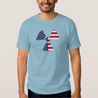 American Radiation Symbol T Shirt