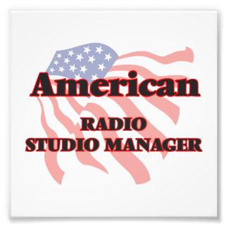 American Radio Studio Manager Photo