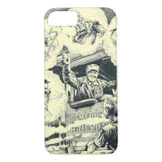 American Railroad Train Engineer iPhone 7 Case