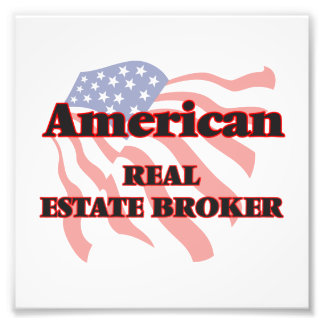 American Real Estate Broker Photographic Print