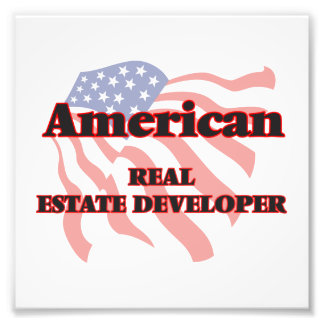 American Real Estate Developer Photo Print