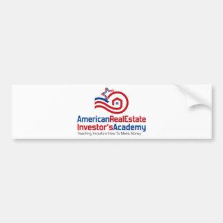 American Real Estate Investors Academy Logo Gear Bumper Sticker