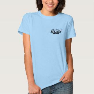 American Recluse Lt. Blue Ladies Shirt