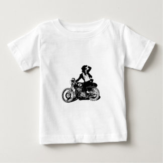 American Recluse Monkey Rider Baby T-Shirt