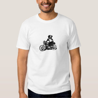 American Recluse Monkey Rider Tee Shirts